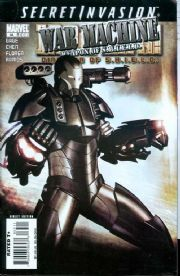 Iron Man Director Of SHIELD #33 (2008) Secret Invasion War Machine Marvel comic book